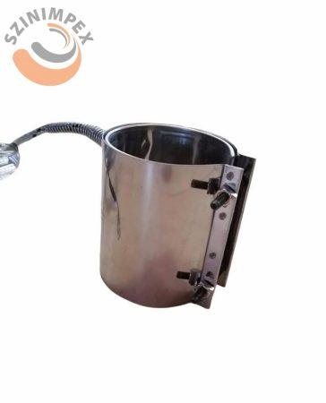 Palást fűtőbetét, 70x90 mm, 230 V, 600 W, 2000 mm vezetékkel