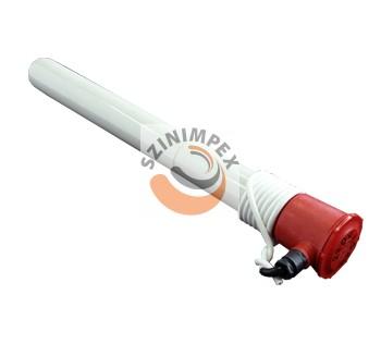 Galván fűtőbetét - hossza: 800 mm, 2500 W